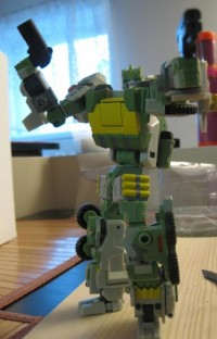 Pictorial Review of FansProject's Warbot Defender