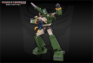 Transformers News: Additional Transformers Masterpiece Hound Images Now With Breathing Mask