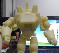 CHMS Xtransbots  Galvatron Prototype Image