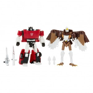 Video Review of Transformers Kingdom Battle Across Time Sideswipe And Skywarp