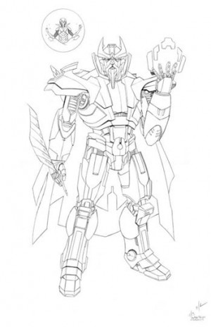 Transformers: The Covenant of Primus - More Ken Christiansen Sketches and Notes