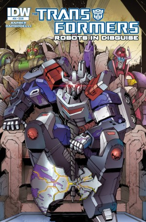 Transformers News: IDW Transformers Comics Solicitations - October 2014: Elegant Chaos, Rhinox, Halloween and More