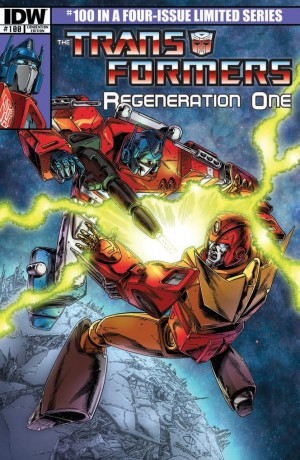 Transformers News: Andrew Wildman Auctions 30 Transformers: Regeneration One #100 Special Variant Covers with Sketch