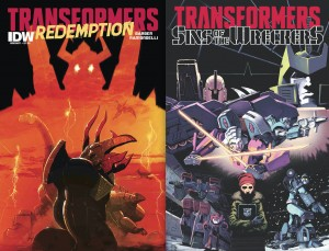 Transformers News: Press Release - IDW Publishing Recaps Comic-Con 2015, Featuring Transformers, Wreckers and More