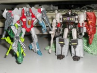 Transformers News: In-Hand Images: Generations Legends Megatron / Chop Shop and Starscream / Waspinator