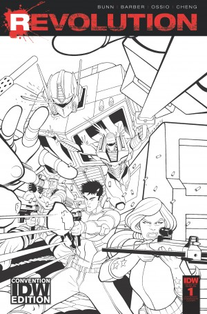 IDW NYCC 2016 Exclusive Revolution Cover and Press Release