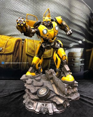 Prime 1 Studio Transformers Bumblebee Movie Bumblebee Statue Revealed #SHCC2018