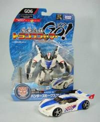 Transformers Go! G-06 Hunter Smokescreen Video Review
