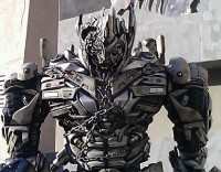 Transformers News: Transformers Dark of the Moon Megatron Walk-Around Character Debuts at Universal Hollywood