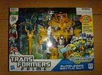 New Transformers Prime Cyberverse Play Set Revealed: Bumblebee Battle Suit