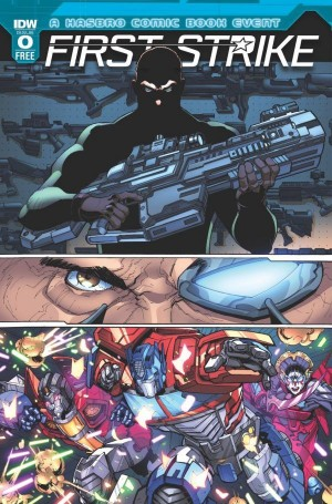 Full Preview of IDW First Strike #0 (Spoilers), Plus New Visionaries Series Possibly Confirmed