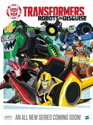Transformers: Robots In Disguise - New Trailer and Behind the Scenes Video