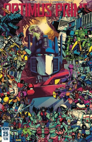5 Page Preview for IDW Optimus Prime 25 Final Issue