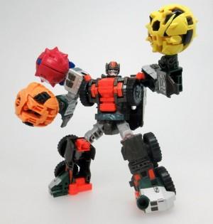 Transformers News: Takara Transformers Unite Warriors UW06 Wandering Roller / Minicon Compatibility