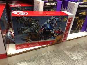 Transformers News: Platinum Edition Leader Class Grimlock And Optimus Prime 2-Pack Found At Retail