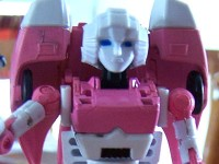 Transformers News: Quick review: Impossible Toys TRNS-01 Valkyrie (Arcee)