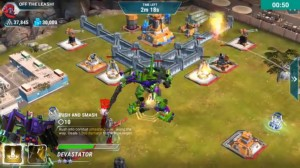 Transformers News: Combiner Devastator Revealed in Transformers: Earth Wars Mobile Game