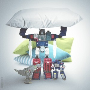 Transformers News: Hasbro Image Featuring Transformers Titans Return Pillow Fortress Maximus