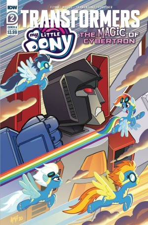 IDW My Little Pony / Transformers II #2 Review