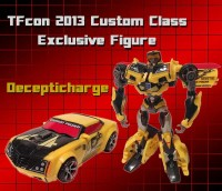 Transformers News: TFcon 2013 Custom Class Exclusive Decepticharge