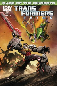 Transformers News: Transformers Prime: Rage of the Dinobots Co-Writer Mairghread Scott Interview