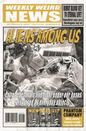 Transformers News: IDW Transformers Comics February 2014 Solicitations - X-Files, Dark Cybertron, ReGeneration One!