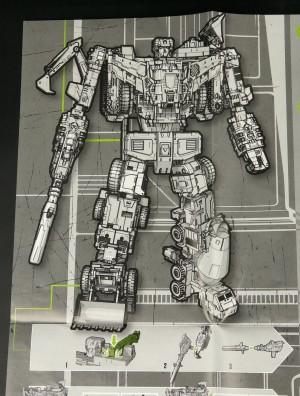 Transformers News: High Resolution Images of Transformers Combiner Wars Devastator's Instructions