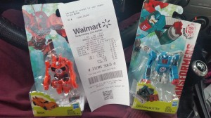 Transformers News: Transformers Robots in Disguise Legion Bisk and Groundbuster Sighted at US Retail