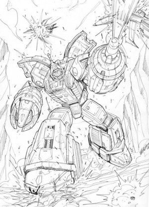 Transformers News: Transformers: Legends Original Artwork by Marcelo Matere