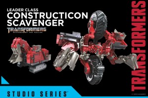 Transformers News: Official Stock Images of Transformers Studio Series Shockwave, Scavenger, 2007 Megatron, and Mixmaster