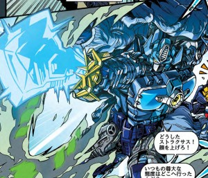 New Takara Tomy Transformers Legends Manga for LG-EX Blue Big Convoy