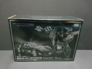 Takara Tomy Transformers Masterpiece MP-25L Loudpedal Box Images