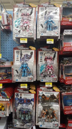 Transformers News: Generations Arcee and Chromia sighted at retail