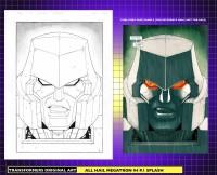 Original Guido Guidi All Hail Megatron Art for Sale
