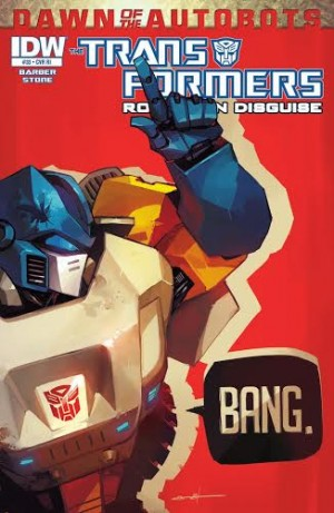 Transformers News: IDW TRANSFORMERS: ROBOTS IN DISGUISE #33 - Review