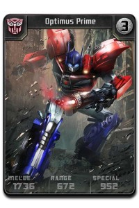 Additional Details on DeNa's Upcoming Transformers Card Battler