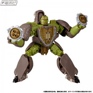 New Stock Images of Transformers Kingdom Voyager Class Rhinox