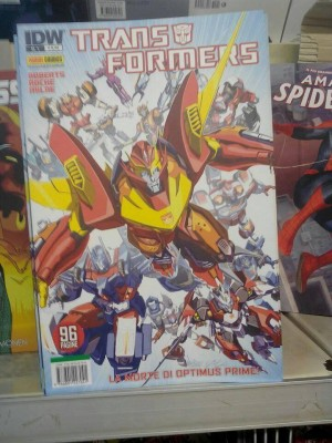 IDW Transformers Finally Out in Italy, via Panini Comics