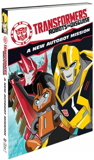Transformers News: First time on DVD, TRANSFORMERS: ROBOTS IN DISGUISE - A NEW AUTOBOT MISSION DVD hits this fall
