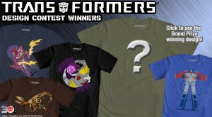 WeLoveFine Transformers Art Design Contest - The Results