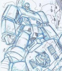 Transformers News: More Original Guido Guidi Comic Book Art Up for Auction