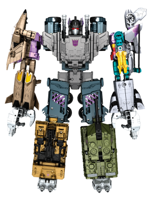 Transformers News: Official Product Images of Combiner Wars Reveals from Hasbro Panel Update