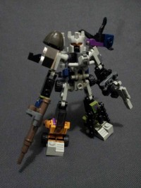 Transformers News: In-Hand Images: Kre-O Transformers Micro Changers Combiners Bruticus