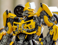 Transformers News: CM's Ginrai and Minerva and Revoltech Bumblebee at Miyazaki Model Show Spring 2012