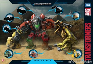 Transformers News: Clear Image of Studio Series Devastator Art Confirming Size Classes of Remaining Figures