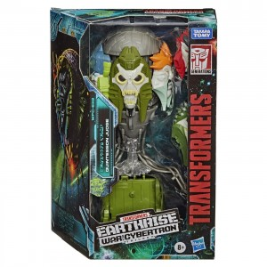 New War for Cybertron: Earthrise In-Package Images of Snapdragon, Megatron, and Quintesson Judge