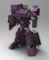Transformers News: MasterMind Creations: Comics to be Included with Upcoming Figures and KM-03 Cyclops Test Colors