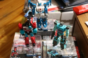 Transformers News: Transformers Titans Return Wave 4 Deluxe Figures found at Big Box US Retail