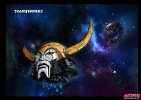Third-Party Battle Damaged Unicron Head from DR. WU