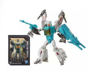 Transformers News: Walgreens exclusive Titans Return Brainstorm available online